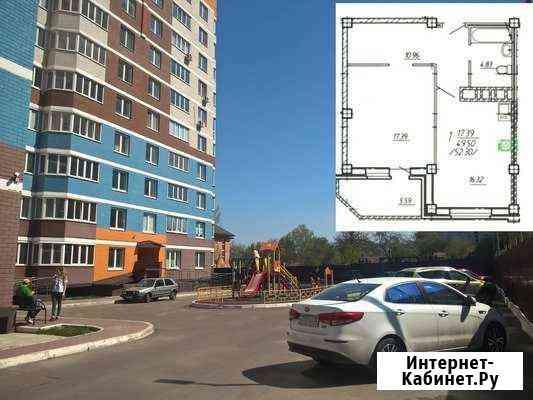 1-комнатная квартира, 49 м², 12/17 эт. Брянск