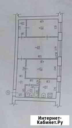 3-комнатная квартира, 53 м², 1/5 эт. Брянск
