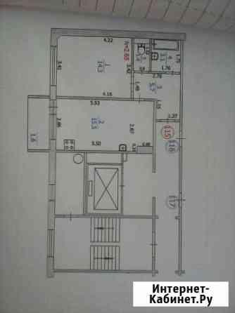 1-комнатная квартира, 42 м², 2/10 эт. Саранск