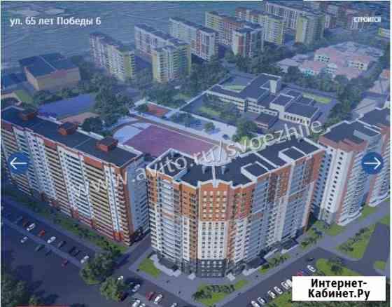 2-комнатная квартира, 44.7 м², 3/17 эт. Барнаул