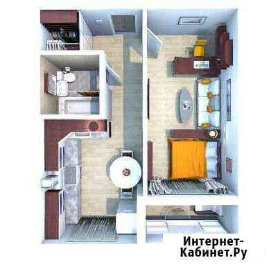 1-комнатная квартира, 40.5 м², 10/10 эт. Саратов