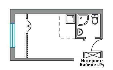 Студия, 20.7 м², 4/9 эт. Видное