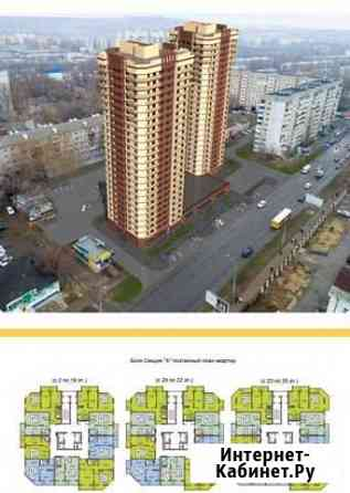 1-комнатная квартира, 41 м², 15/25 эт. Саратов