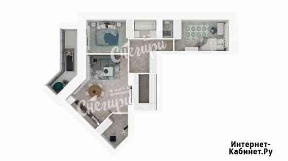 3-комнатная квартира, 72.1 м², 5/13 эт. Северодвинск