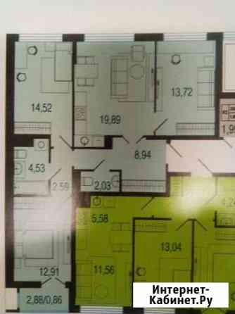 4-комнатная квартира, 80 м², 5/12 эт. Ижевск
