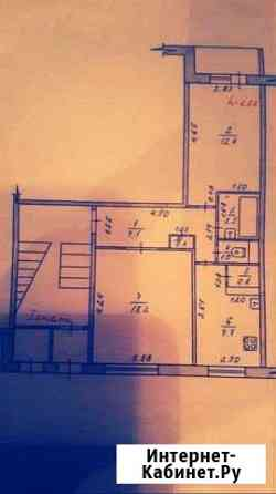 2-комнатная квартира, 47 м², 1/5 эт. Котлас