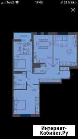 3-комнатная квартира, 85 м², 4/18 эт. Набережные Челны