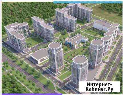 2-комнатная квартира, 61.4 м², 7/17 эт. Барнаул