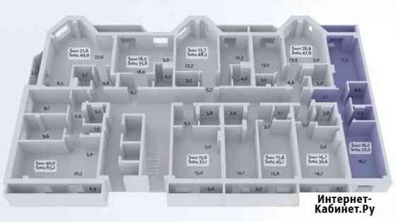2-комнатная квартира, 50.2 м², 5/17 эт. Новосибирск