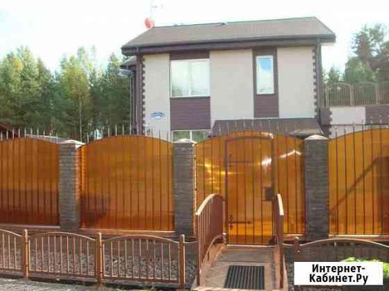 Коттедж 210 м² на участке 12 сот. Приладожский