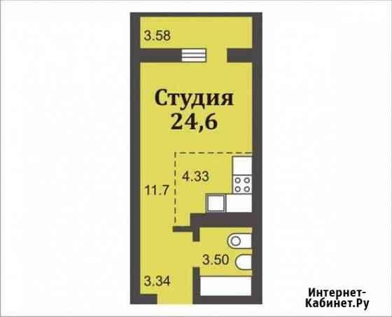 Студия, 24 м², 4/17 эт. Оренбург