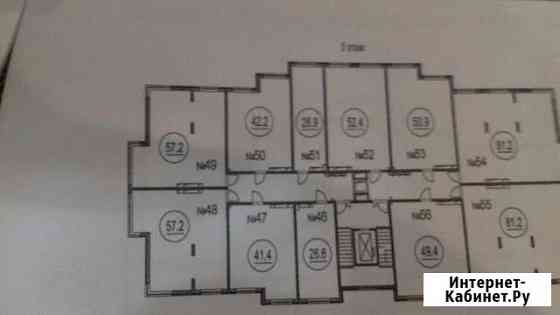2-комнатная квартира, 57 м², 5/7 эт. Кемерово