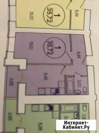 1-комнатная квартира, 36 м², 9/16 эт. Энгельс