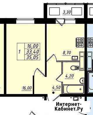 1-комнатная квартира, 39 м², 15/18 эт. Всеволожск