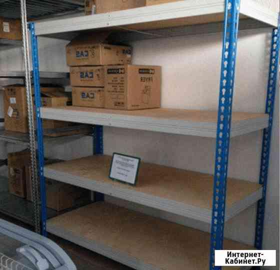 Стеллаж металлический для склада (300 кг на полку) Симферополь