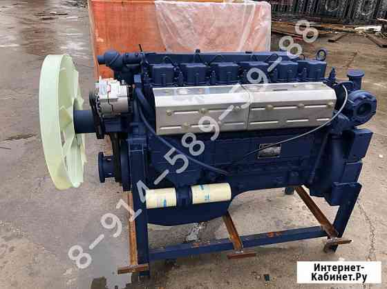 Двигатель Weichai WD615.50 290 л.с. Евро-2 для Shaanxi SX3254 F2000, Shacman SX2190, SX2254 Благовещенск