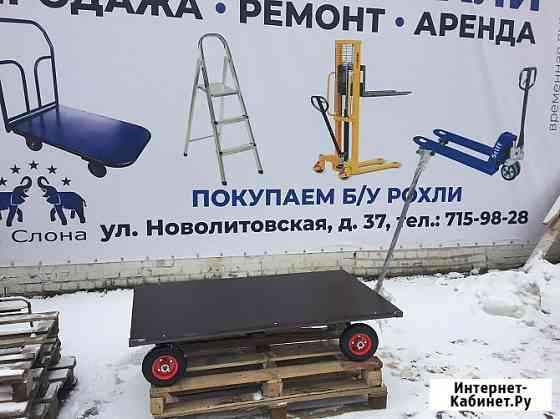 Тележка облегченная с поворотной осью Санкт-Петербург