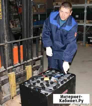 Первичный заряд-разряд и заливка тяговых аккумуляторов Апрелевка