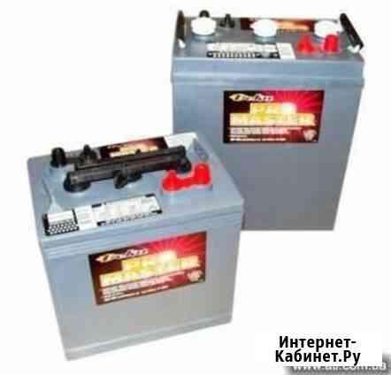 Тяговые аккумуляторы 6В для поломоечных машин, штабелеров Апрелевка