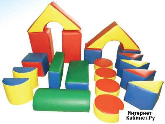 Детские мягкие строительные конструкторы в Краснодаре Краснодар