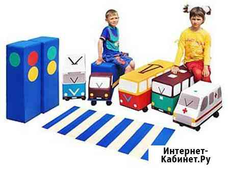 Детские мягкие наборы(модули) для изучения ПДД и Правил пожарной безопасности Краснодар