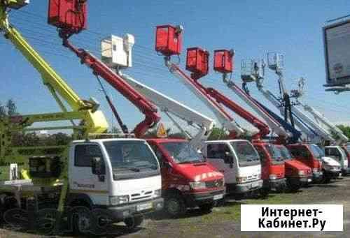 Заказать автовышку Исузу в Уфе (от 14м до 42 метров) Уфа