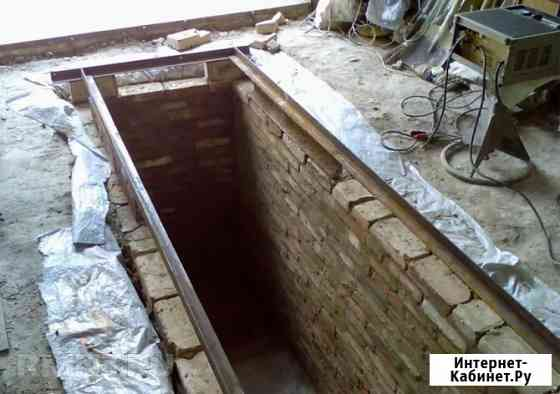 Ремонт гаражей в Красноярске, погреб монолитный, смотровая яма Красноярск