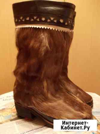 Унты оленьи 36 размер Москва