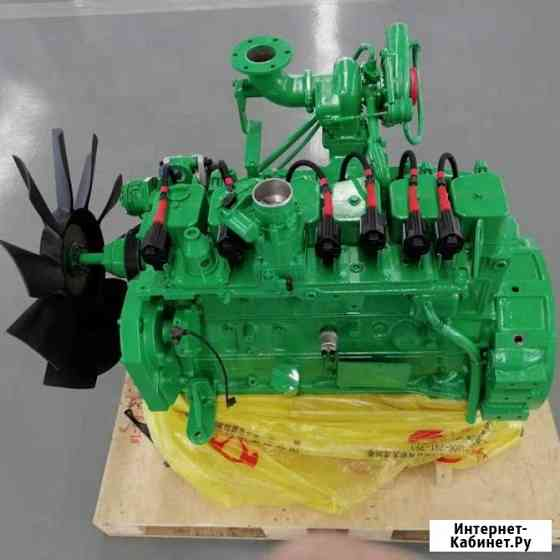 Газовый ДВС Cummins 6BT5.9-G для электростанции Благовещенск