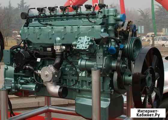 Двигатель газовый Sinotruk WT615.95 Евро-4 (340 л.с.) Новый, оригинальный Благовещенск