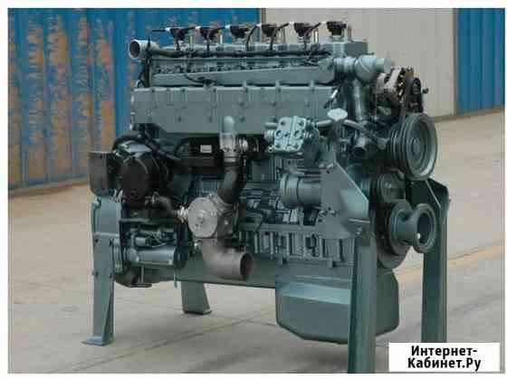 Двигатель газовый SinotrukT10.32-40 (320 л.с.) для HOWO A7 (природный газ метан или пропан-бутан) Благовещенск