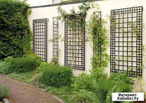 Шпалеры для вьющихся растений по размерам заказчика Москва