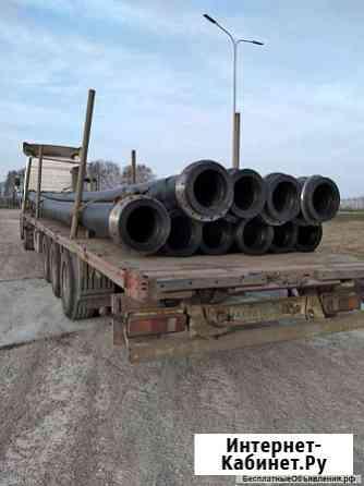 Офланцованные трубы для земснаряда наземные и плавающие. Доставка Екатеринбург