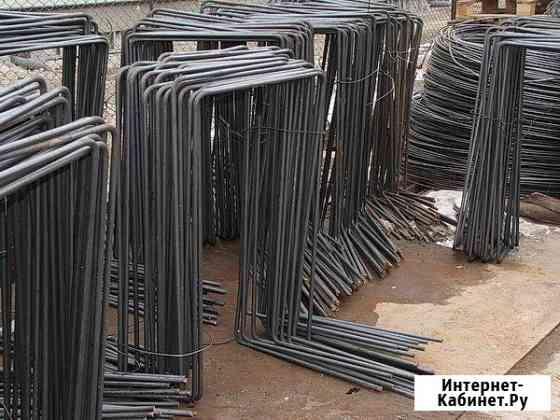 Гнутые арматурные изделия различной конфигурации под заказ Москва