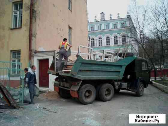 Вывоз строительного мусора Смоленск