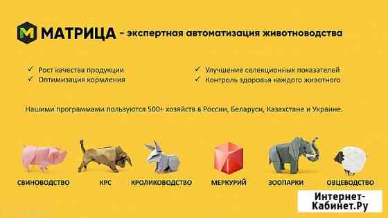 Программы для автоматизации учёта в животноводстве Белгород