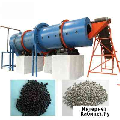 Оборудование для переработки и гранулирования помета, навоза, сапропеля, пищевых отходов в удобрение Москва