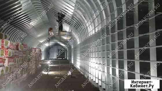 Ангары - быстровозводимые металлоконструкции Грозный