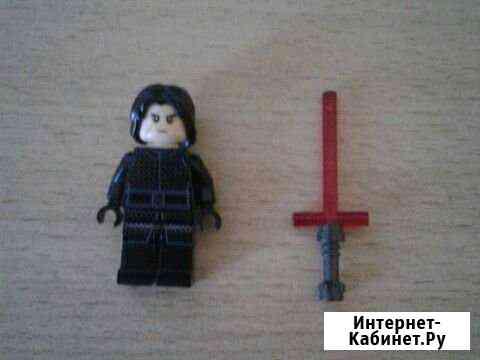 Лего минифигурка кайло рен Тольятти