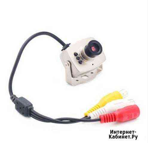 Камера видеонаблюдения 208C цветная в миникорпусе Свободный