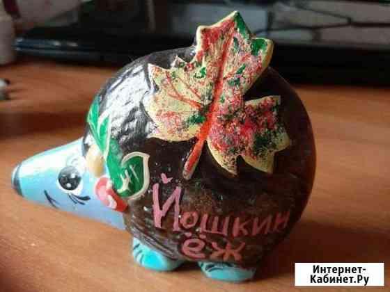 Копилка ёжик йошкар-олинский Йошкар-Ола