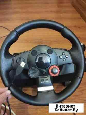 Руль для Ps и Xbox от Logitech Нальчик