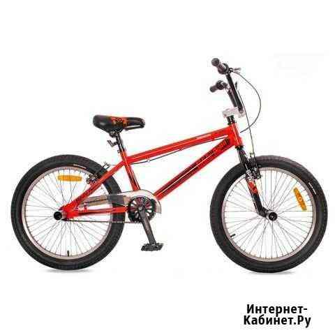 Велосипед black aqua Х-jump 20 (красный-черный) Киров