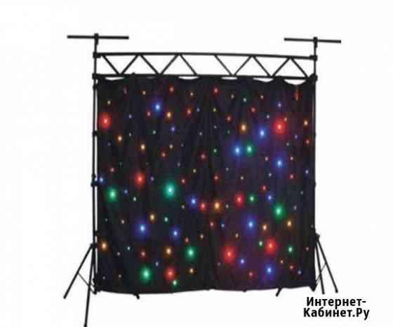Светодиодный видео занавес звездное небо 2x3 метра Мурманск