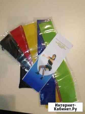 Фитнес резинки (5 в 1) Plus разноцветные Череповец