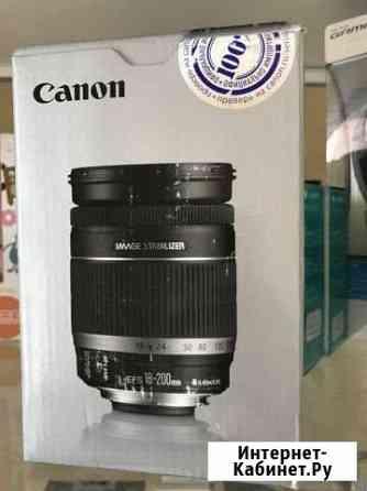 Новый Объектив Canon EF-S 18-200mm f/3.5-5.6 IS Псков