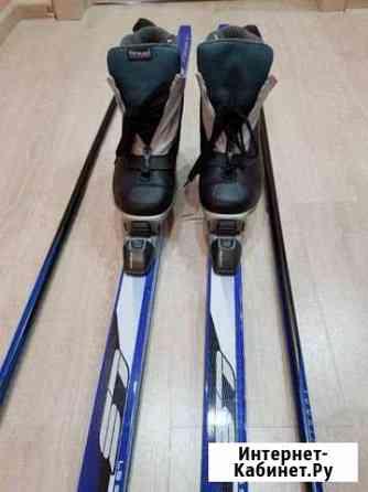 Беговые лыжи, палки, ботинки Чебоксары