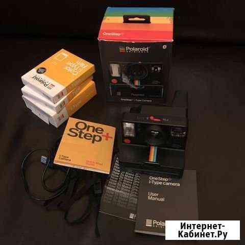 Фотоаппарат Polaroid OneStep+ i-Type + картридж Москва