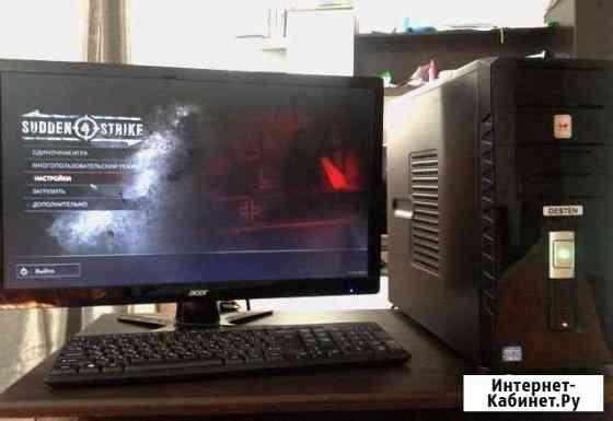 Игр.компьютер на Core i3, 8гб и GTX 1050Ti 4гб Пенза
