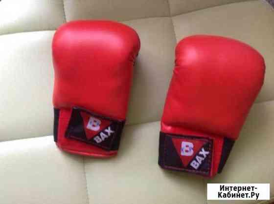 Перчатки красные Ухта